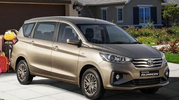Toyota Rumion, Rebadge Suzuki Ertiga Yang Dijual Di Afrika Selatan