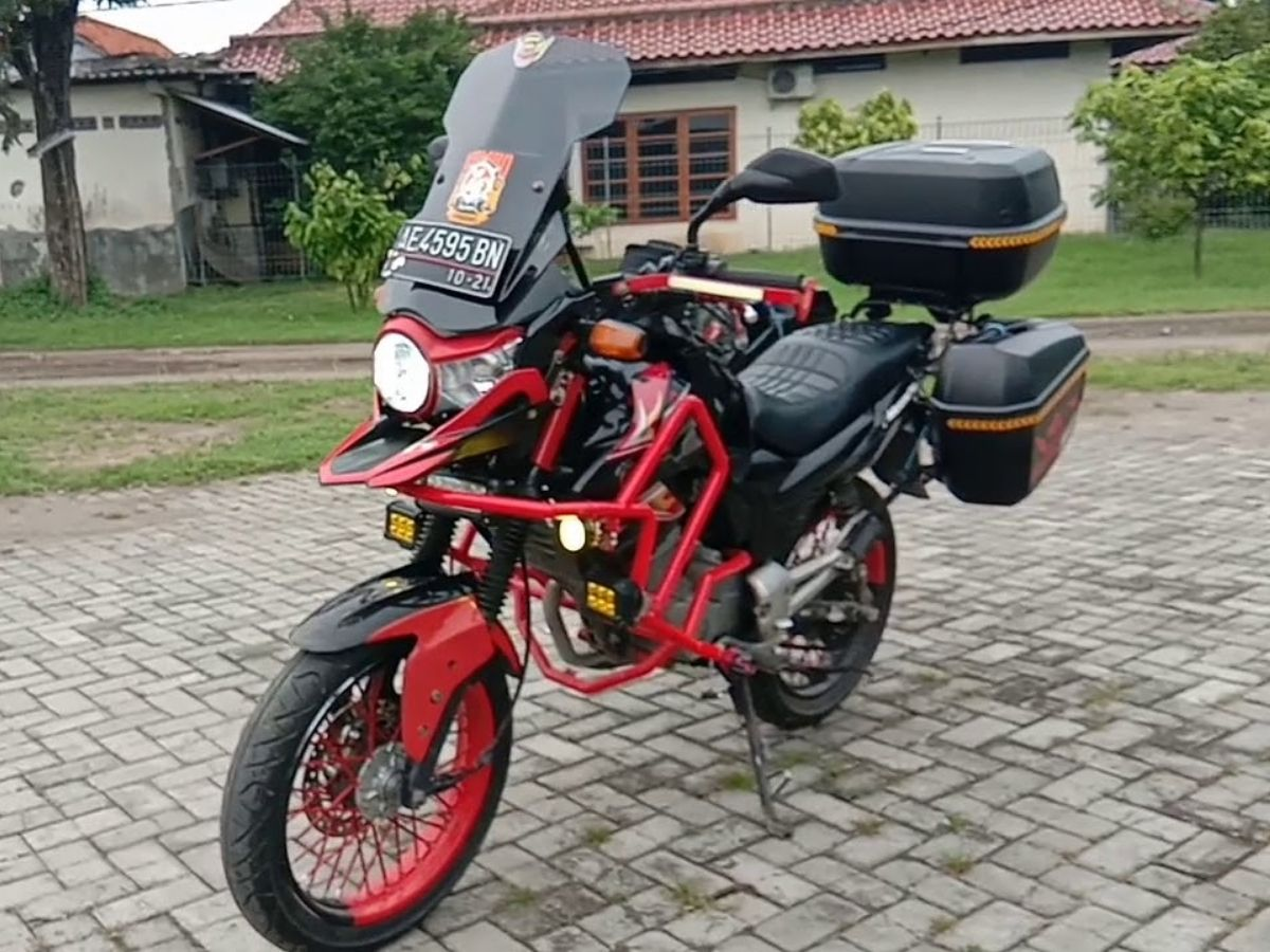 Modifikasi Honda Megapro Primus - Touring