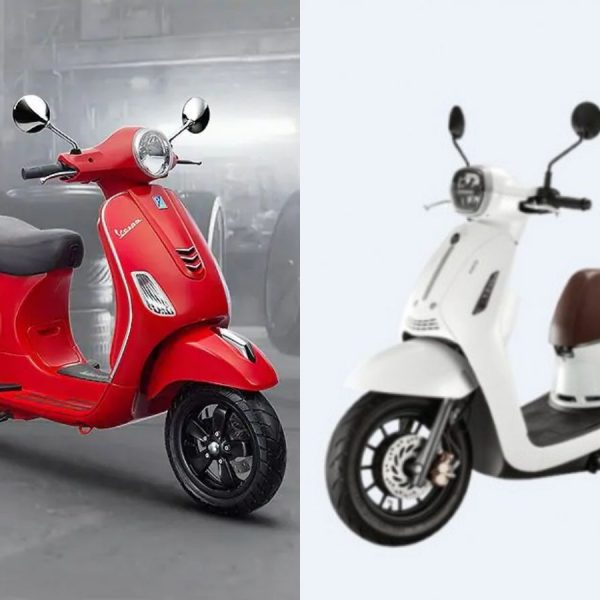 Vespa LX vs Benelli Panarea