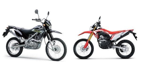 Kawasaki KLX 150 vs Honda CRF 150