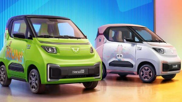 Wuling Luncurkan Mobil Listrik Kecil dan Futuristik: Nano EV